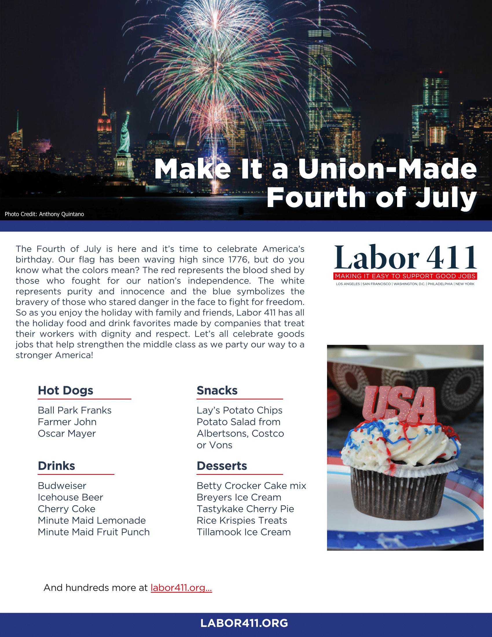 Make It a Union-Made Fourth of July | Connecticut AFL-CIO